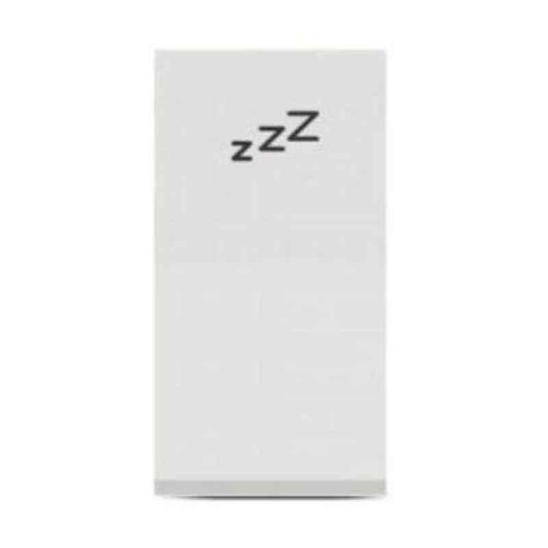Schneider Unica Pure 1 Module Polar White DND Switch, UNSDNDSW1M_WE (Pack of 20)