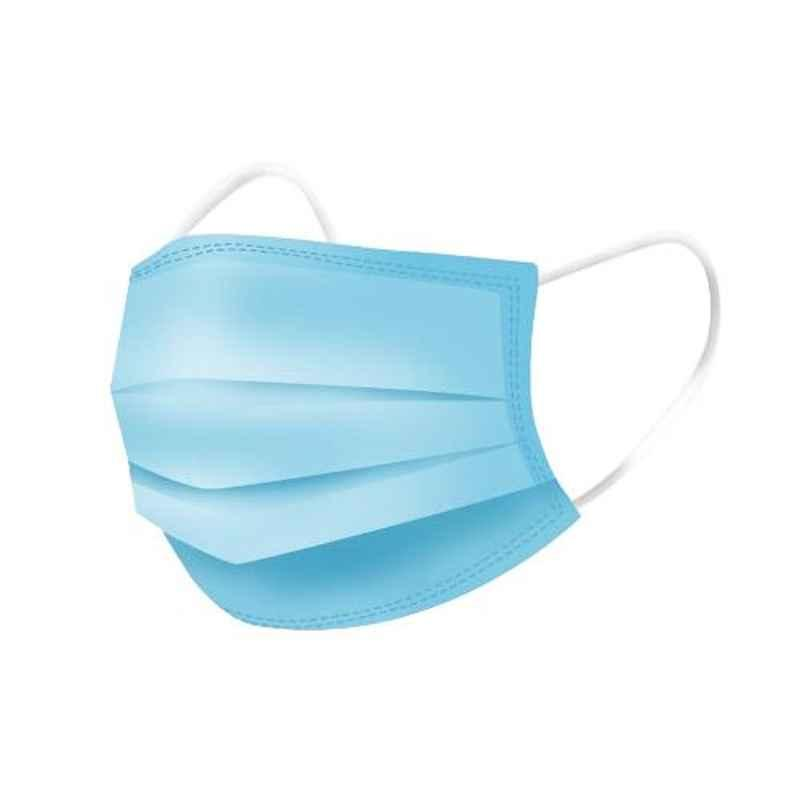 Khushi 3 Ply Non-Woven Fabric Universal Face Mask