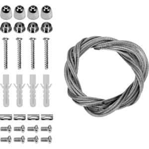 Yato 4 Pcs Wire Rope Kit for Hanging Luminaires, YT-81952
