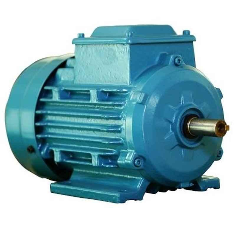 ABB M2BAX132SA4 IE2 3 Phase 5.5kW 7.5HP 415V 4 Pole Foot Mounted Cast Iron Induction Motor, 3GBA132110-ADCIN