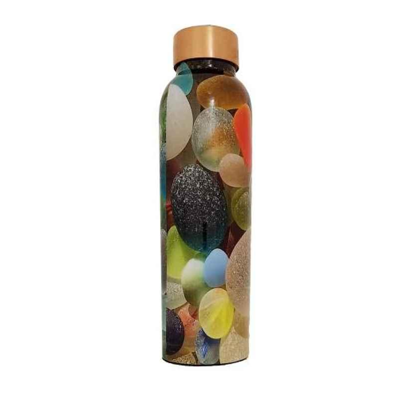 Healthchoice 1000ml Copper Crystal Design Printed Water Bottle