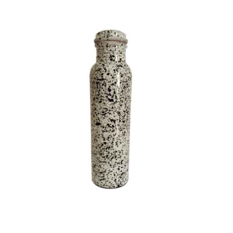 Healthchoice 1000ml Copper Dotted Printed Water Bottle