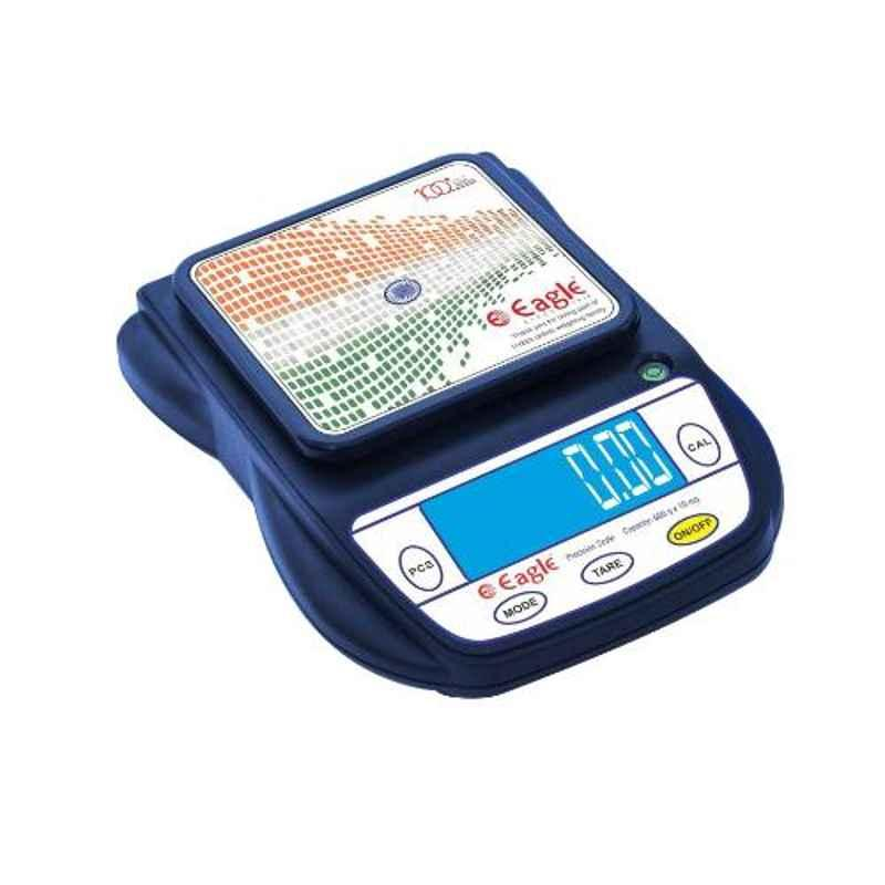 Eagle PKT40D 600g Virgin ABS Plastic Precision Weighing Scale