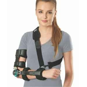 Tynor ROM Black Right Elbow Brace, Size: Universal