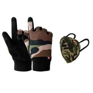 Swiss Military COMBO101S Reusable Protection Glove & Alphaguard 3 Layer Mask Combo