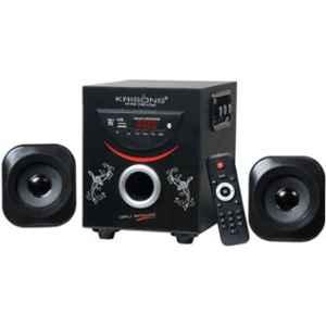 Krisons Sonic 2.1 Channel Black & Red Home Theater