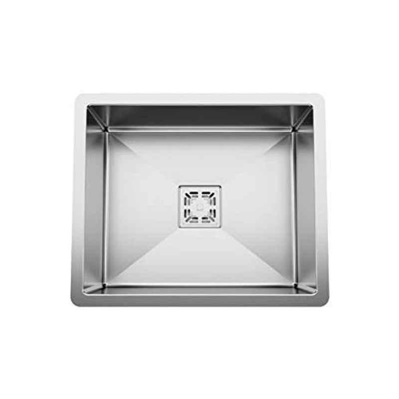 Crocodile 24x18x10 inch Satin Finish Extra Premium Stainless Steel Handmade Kitchen Sink