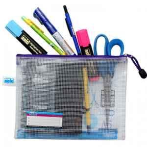 Solo A4 Blue My Zipper Bag, MFA41 (Pack of 10)