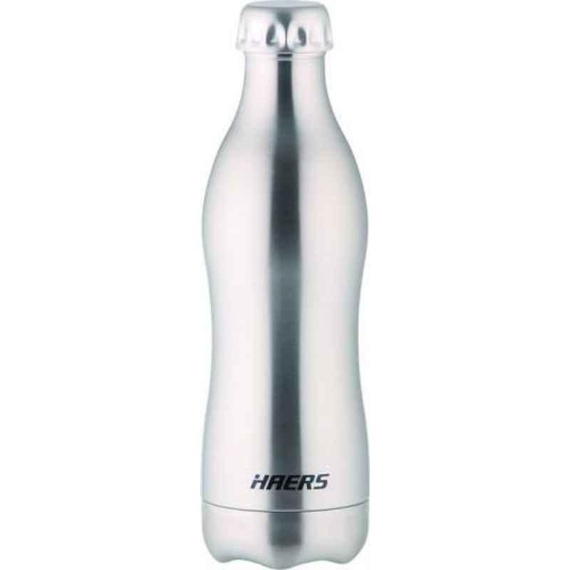 Haers 500ml Stainless Steel Beverage Bottle, HKL-500WB-STS