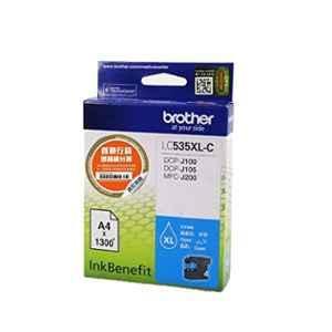 Brother LC 535XLC Cyan Ink Cartridge