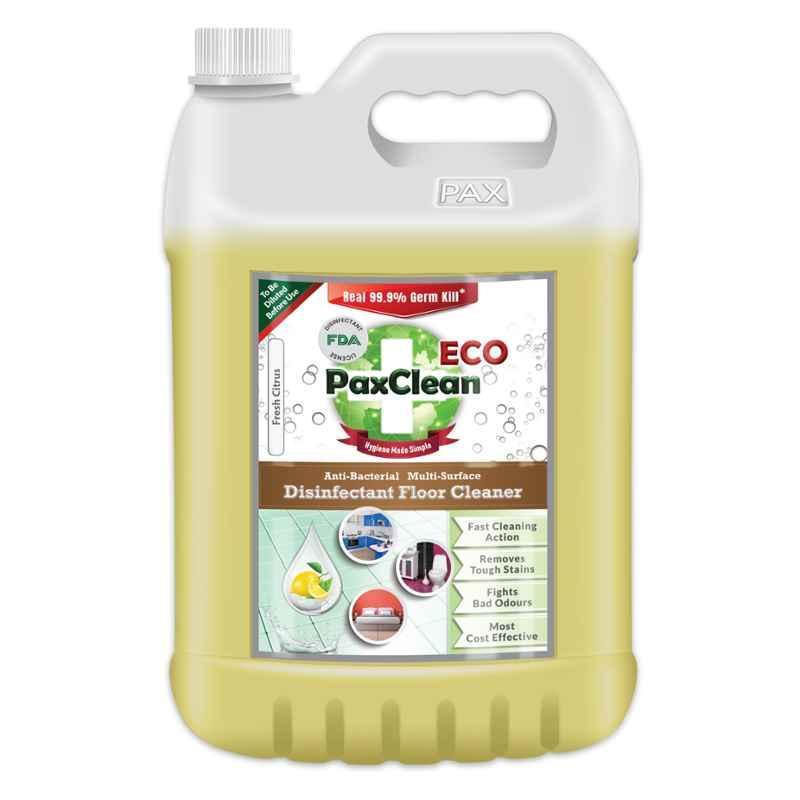 Paxclean Eco 5L Citrus Disinfectant Surface Floor Cleaner