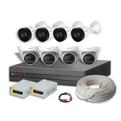 CP Plus 5MP 8 HD Camera Kit