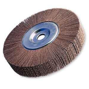 Cumi Cutfast 220 Grit LO RIC Flap Wheel, Size: 14x2x5/7 inch