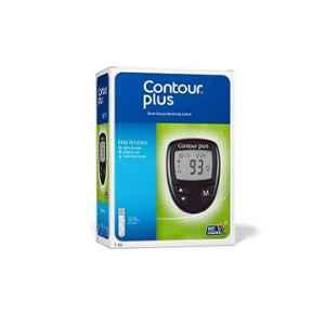 Contour Plus Blood Glucose Monitoring System with 25 Pcs Blood Glucose Test Strips