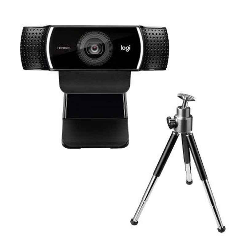 Logitech C922 Black Pro Stream Webcam, 960-001090