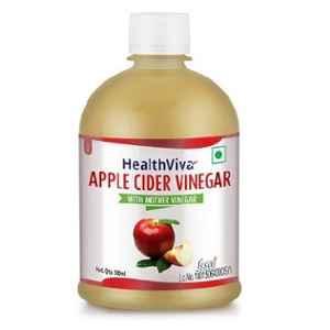 HealthViva 500ml Unflavoured Apple Cider Vinegar, HNUT236-01
