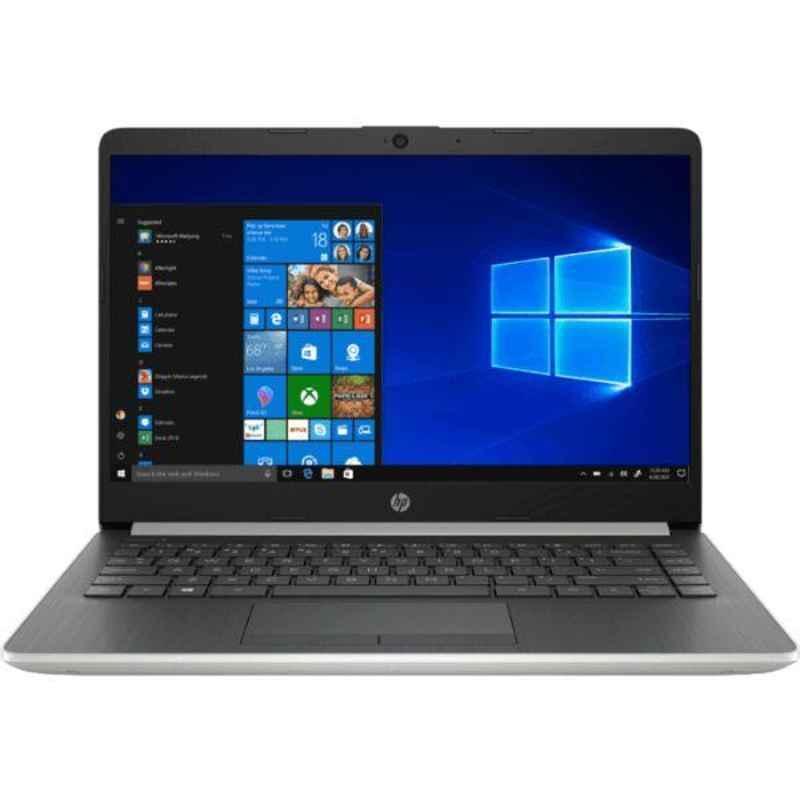 HP 14S-CR2000TU Intel i5/8GB DDR4/1TB SATA HDD/14 inch Display Natural Silver Laptop, 8LY18PA
