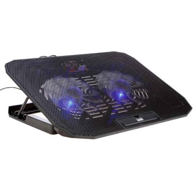 Solo Black Maxicool Laptop Station, LS104