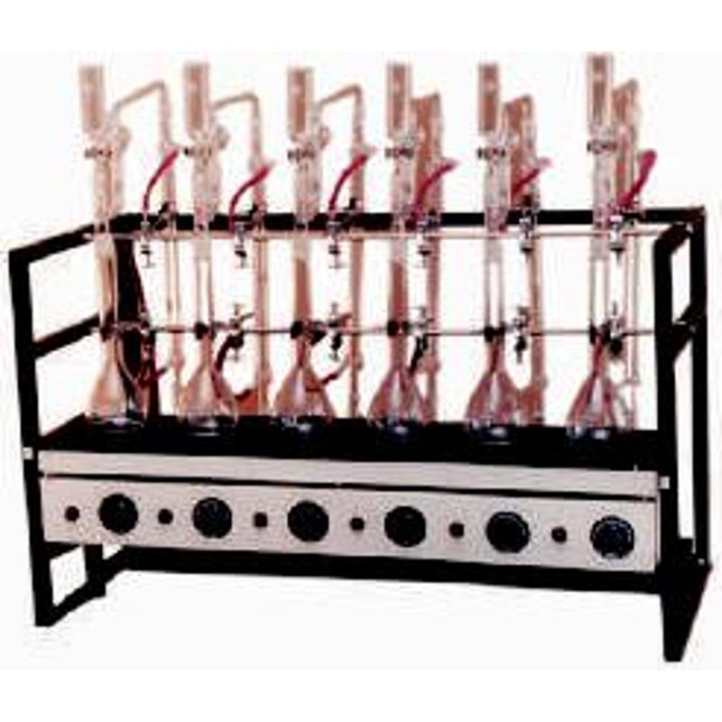 Labpro 143 6 Tests Mantle Type Kjeldhal Distillation Units