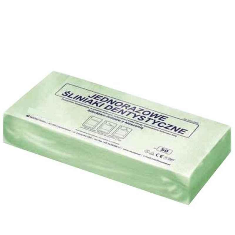KosmoCare Disposable Green Bibs, IXMDB1G (Pack of 50)