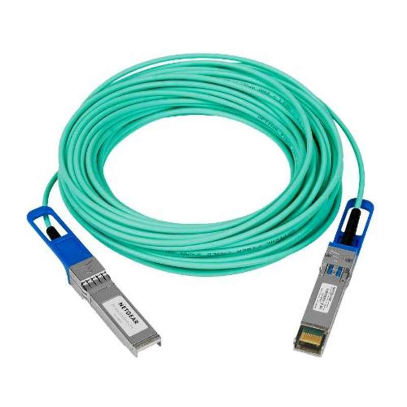 Netgear 15m Active Optical Direct Attach Cables for 10GB Connections, AXC7615