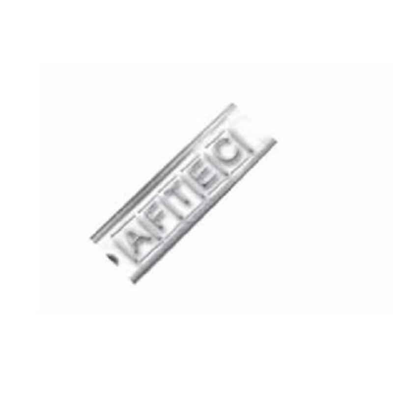 Aftec 100 Pcs Non-Magnetic Stainless Steel Slide On L Tags Packet, ASSM-L