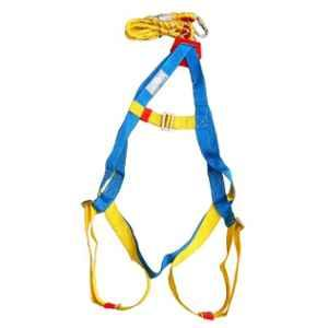 Arcon Single Rope Full body with Karabiner Hook Industrial Safety Belt, ARC-5104