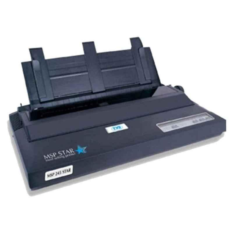 TVS MSP 245 Star Black Dot Matrix Monochrome Printer