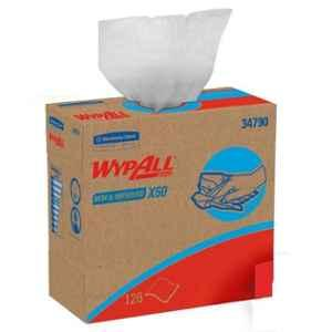 Wypall X60 126 Sheets Reusable Wipes in Convenient Pop-Up Box, 34790 (Pack of 10)