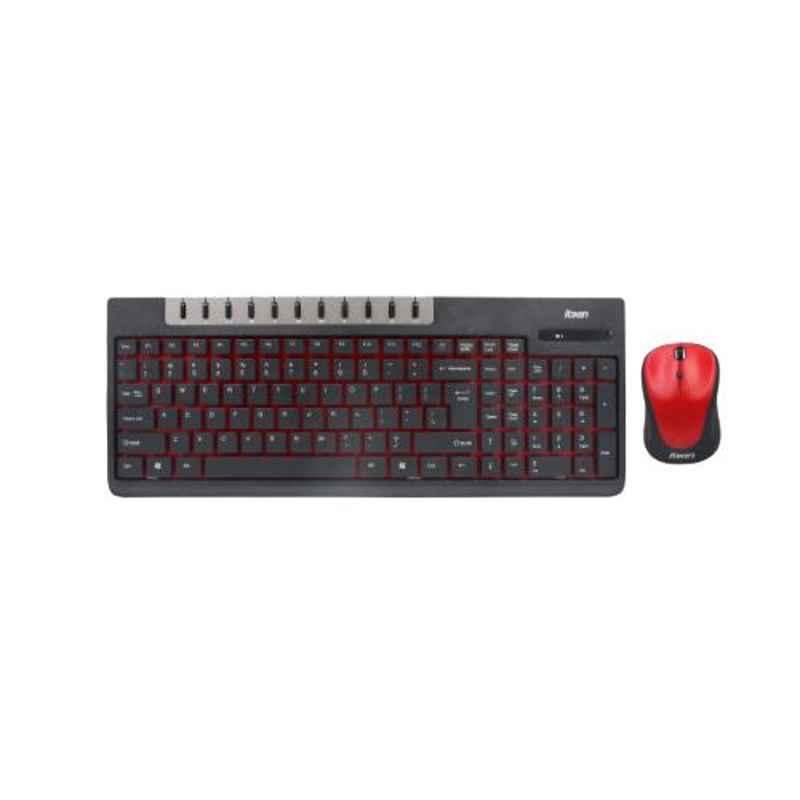 Foxin FWC-601 Wireless Multimedia Keyboard & Mouse Combo