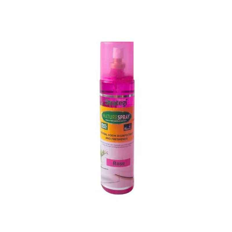 Herbal Strategi Nature Spray 250ml Rose Herbal Room Disinfectant & Freshener