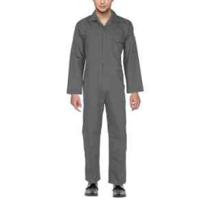 Club Twenty One Workwear Large Polyester Cotton Grey Boiler Suit for Men