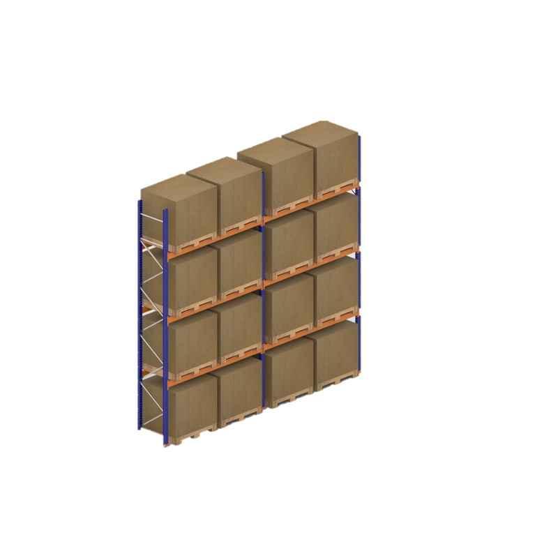Godrej 5x2.7x0.8m 3 Layer Industrial Storage Rack, Load Capacity: 12000 Kg