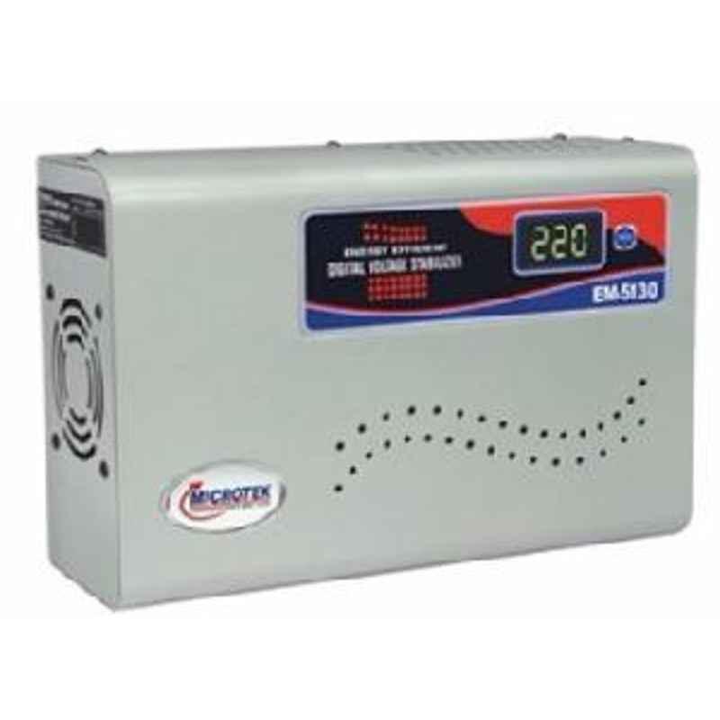 MicroteK 2 Ton 130V-300V Voltage Stabilizer, For AC EM5130+
