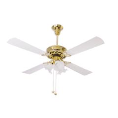 Crompton Uranus 72W Ivory Decorative Underlight Ceiling Fan, Sweep: 1200 mm