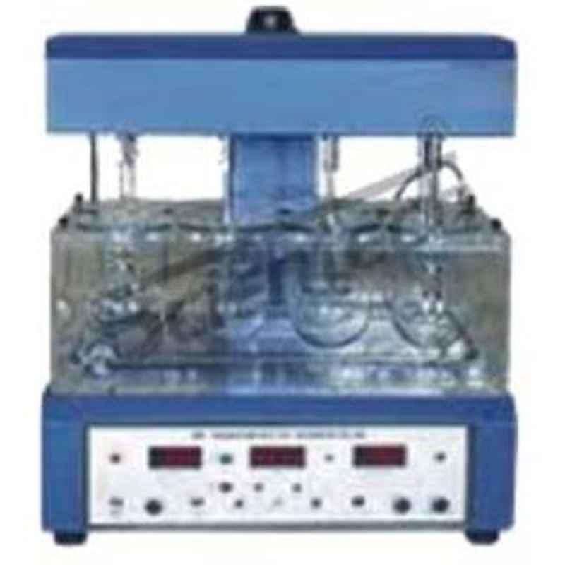 Scientech SE-273 Three Test Unit Table Dissolution Rate Test Equipment