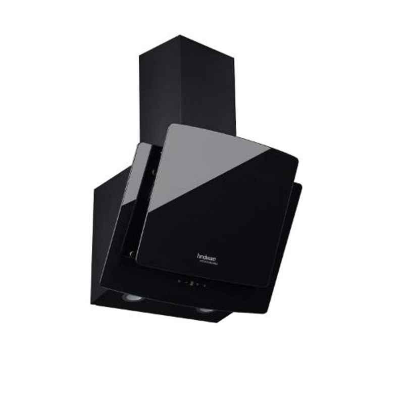 Hindware Kyra 60 Black Counter Top Chimney, 515470, Size: 60 cm