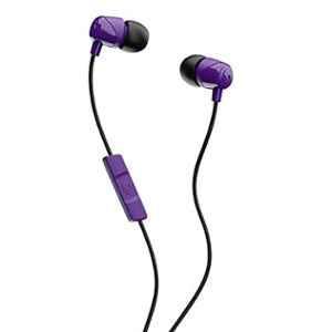 Skullcandy Jib Purple Wired in-Earphone with Mic, S2DUYK-629