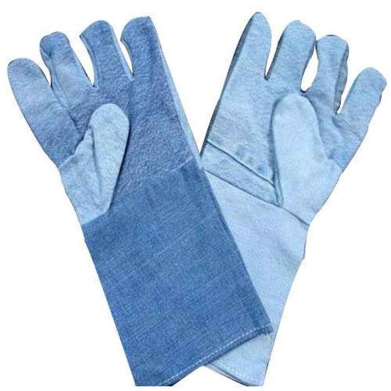 Shree Rang 14 inch Jeans Hand Gloves, KH21