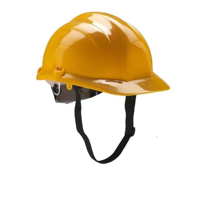 Udyogi Ultra 5000 L Nape Type Yellow Safety Helmet