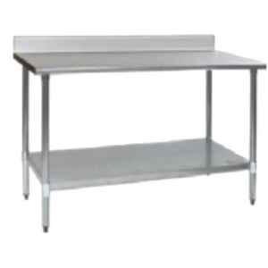 Star Fabricator 1500x600x950+100cm Table Top 18 Swg SS with 100 Mm High Splash