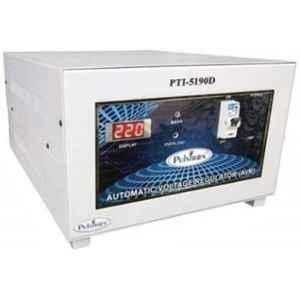 Pulstron PTI-5190D 5kVA 190-300V Single Phase Light Grey Automatic Mainline Voltage Stabilizer