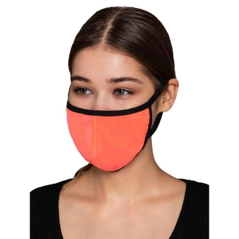 Clovia MASK22A14 3 Ply Washable Pink Face Mask (Pack of 10)