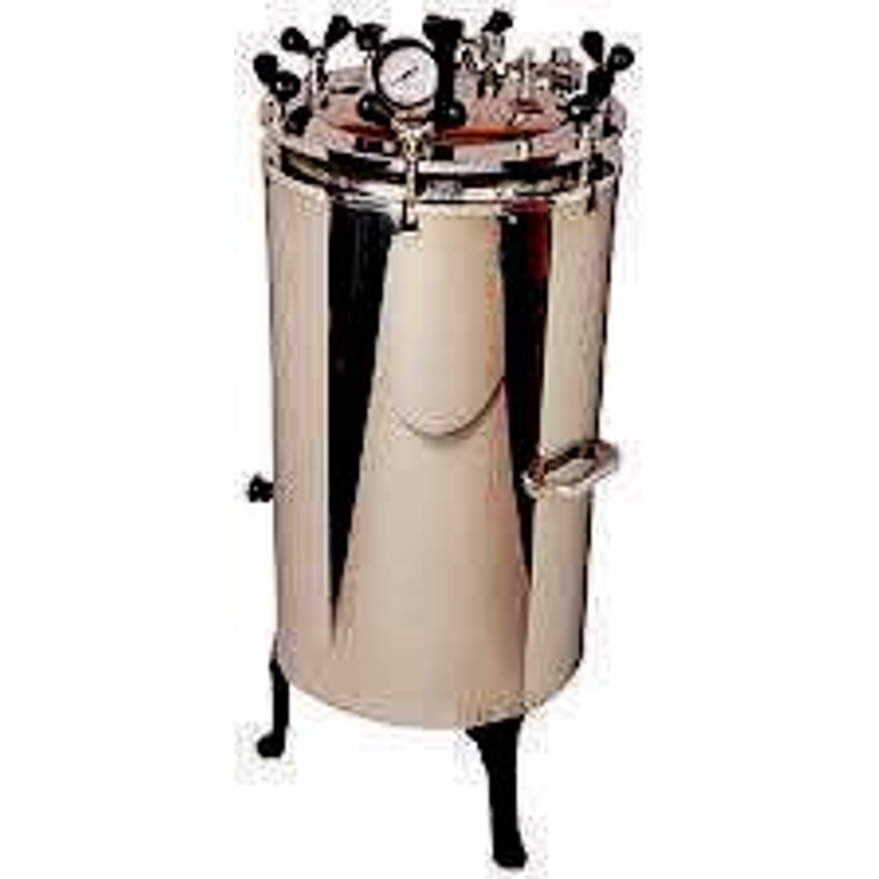 Labpro 145 152L Stainless Steel 152L Vertical Double Wall Autoclave