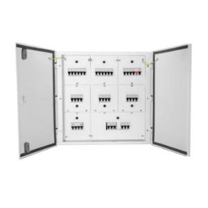 Wipro North West Avancee 12 Ways 8 Segment Phase Segregated Double Doors Distribution Board, NW-AV12W8SEGPSDD