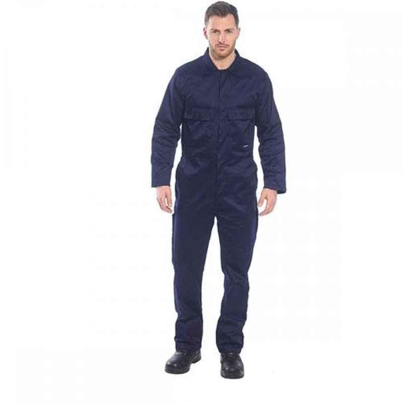 Siddhivinayak Terrycotton Full Sleeve Boiler Suit, Size: XL