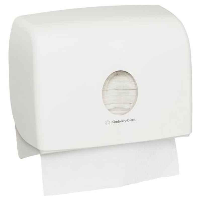 Kimberly-Clark Aquarius Compact Multifold Towel Tissue Dispenser, 70220