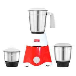 Fogger 500W Red & White Mixer Grinder with 3 Jars