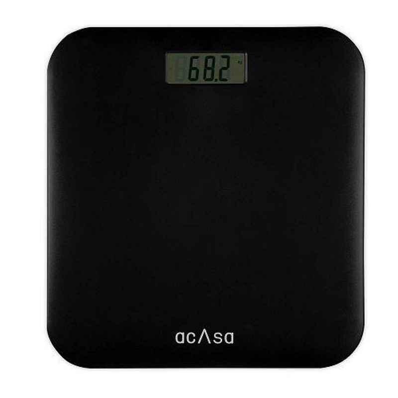Acasa Digiscale Basics 180kg Black Digital Weighing Machine