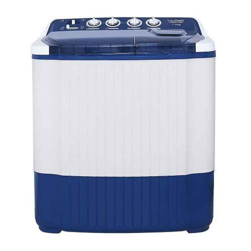 Lloyd Fresh Clean 7.2kg Blue Semi Automatic Top Load Washing Machine, LWMS72BP